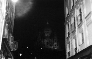 spooky sacre coeur by poorreflection