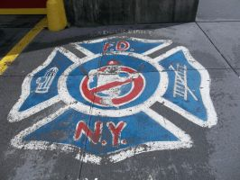 Ladder 8 Firehouse logo by Blockwave