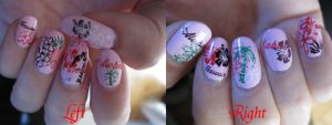 Hawaii Nail Art by Zomijas