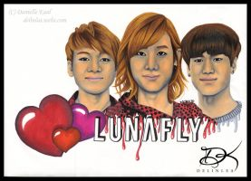 Markers: LUNAFLY by Delinlea