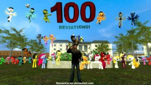100th Deviation by NomanCarver