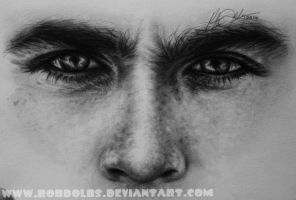 Ian Somerhalder Eyes by robdolbs