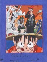 One Piece Volume Four- The Black Cat Pirates by krule274