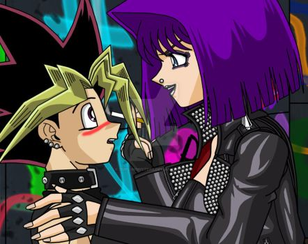 Sexy Punk Encounter by Duel-Monsters