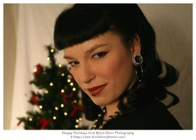 Holiday Pin-Up 2 by BDP by blackdoorphotos