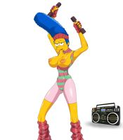 Marge WorkOut by FatherDimitry