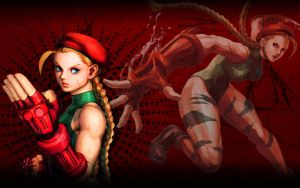 Cammy White Street Fighter Wallpaper by 1KamZ