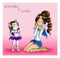 Sailor Andrea and Sailor Fa by fabiola