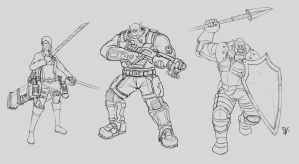 Orc Crossovers by Pakebel