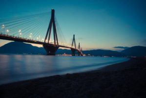 rio-antirrio bridge II by LNePrZ