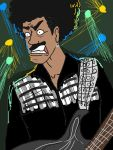 Pissed Off Phil Lynott by TinyVernon