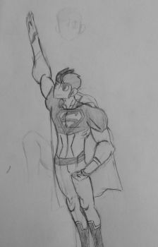 Becomes a Superman by smacktalker