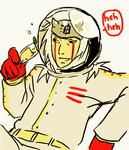 Jiraiya + Space suit + mimosa by mistix