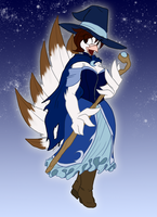 Magical Witch Dove Darsy by Toughset
