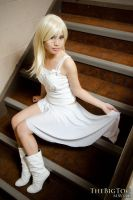 Namine - Witch of Castle Oblivion by CrystalMoonlight1
