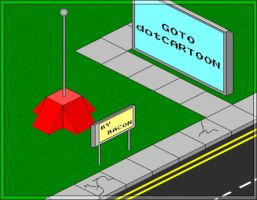 My 1st Isometric Art by bacon111