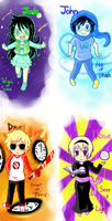 Homestuck Kids by Xxsakura87xX