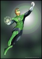 Green Lantern by HeonGaiden