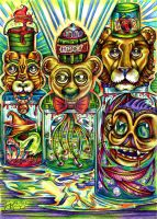 Lions Tigers Bears etc. by spookyspittle