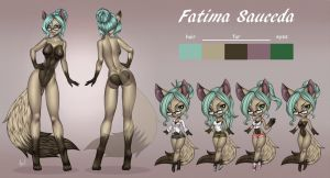 Fatima - Reference Sheet by playfurry