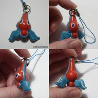 Rotom Charm by ChibiSilverWings