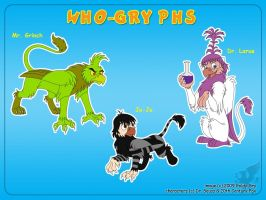 Who-Gryphs by Goldy--Gry