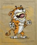 Screaming Tiger by r-kedvale