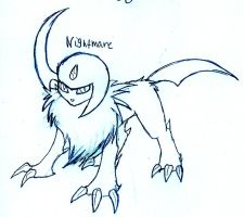 Nightmare the Absol by FuneralDyingheart