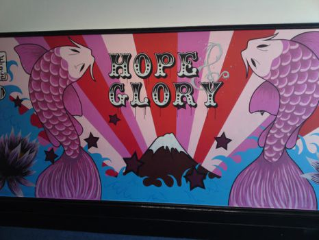Hope and Glory Mural by messymedia