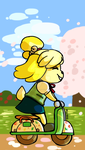 Isabelle's Vacation by RinLockhart