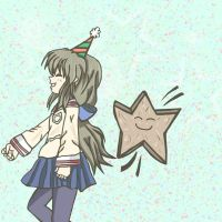 Fuko's Starfish Parade - Graphic Art by pocketsizedobserver