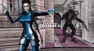 XNALara: TRU_Rise of the Lycans Theme CS V2 by Krypto4CatSuits