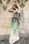Tribal Evening Gown by Yazzzle