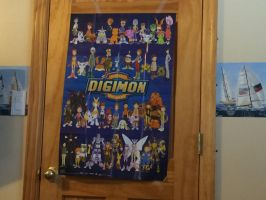 My Digimon Poster by dinoboy2000