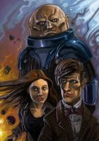 Doctor Who Death of Time by MightyMoose