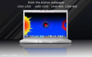 Push the button wallpaper by janosch500