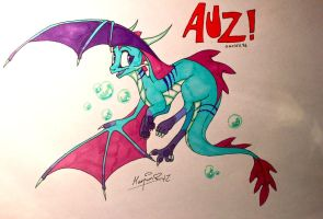 Happy Birthday, Auz! by Insaneus