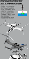 Elimona Hawkeye AEW Tiltrotor aircraft by Stealthflanker