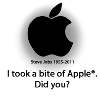 Steve Jobs Tribute by AppleDew