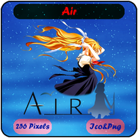 Air - Anime Icon by Mizar86