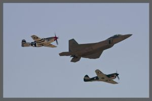 Heritage Flight March 08 by AirshowDave
