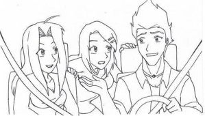 Driving with Friends by Dreamgirl2007