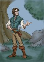 Grown-Up Coloring Book: Flynn by kuabci