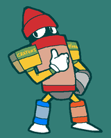 Crayon Man by 3-Angled-Blue