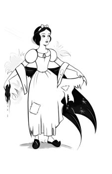 Snow White - Sketch by didouchafik