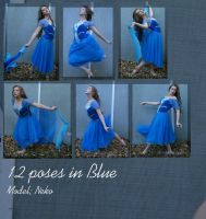 BlueDance pack by Nekoha-stock