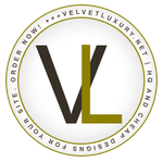 Velvet Luxury Logo ID by DontCallMeEve
