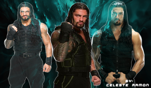 Roman Reigns: Blue by celtakerthebest