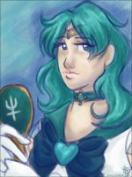 Neptune ACEO by toritwit