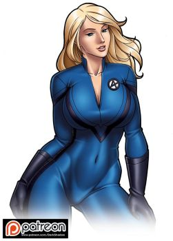 PATREON - Sue Storm by IDarkShadowI